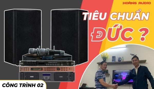 Bộ Dàn karaoke 4 Acoustic chuyên nghiệp của A Luyện - Hà Đông - HN