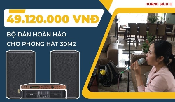 Lắp bộ dàn karaoke loa full bass 40 cho A Đức - Phú Thọ