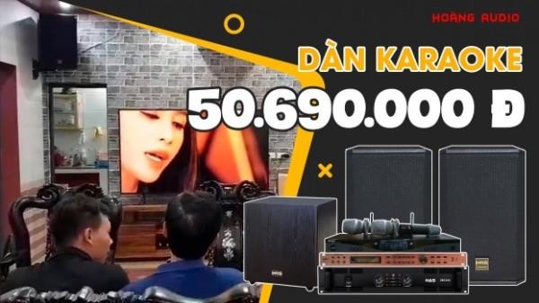 Lắp đặt bộ dàn karaoke cực hay cho gia đình A Tuấn - Vĩnh Phúc