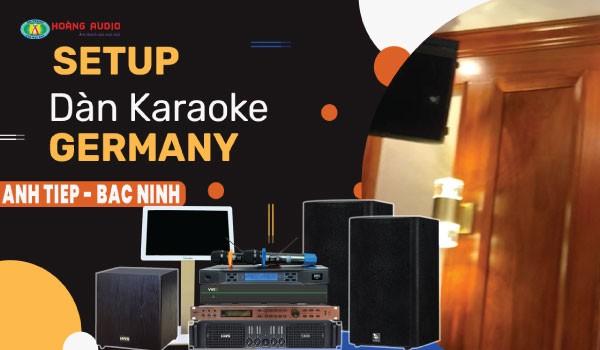 Bộ karaoke cao cấp 4 Acoustic kết hợp HAS cho gia đình A Tiệp - Bắc Ninh