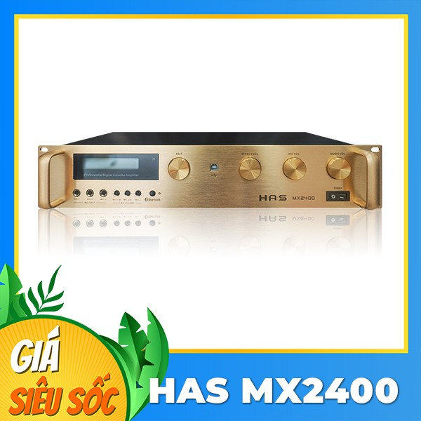 Amply số HAS MX2400