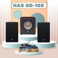 Dàn karaoke HAS 4.0 GD10S