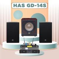 Dàn karaoke HAS 4.0 GD14S