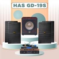 Dàn karaoke HAS 4.0 GD19S