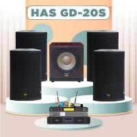 Dàn karaoke HAS 4.0 GD20S