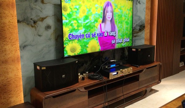Combo dàn karaoke HAS - Polk cực hay của gia đình A Thảo - Thanh Trì