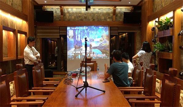 Lắp dàn karaoke cao cấp 4 Acoustic - HAS cho gia đình chị Nhung - Tây Hồ
