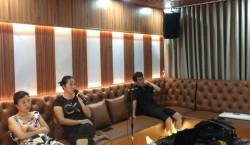 Dàn karaoke cao cấp 4 Acoustic, HAS, Crown gia đình Chị Hằng - Paradise Đại Lải